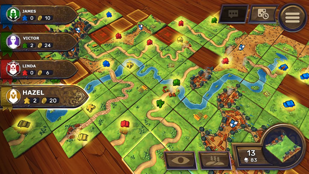 Carcassonne Tiles & Tactics sur Steam et Android