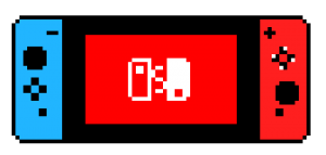 Switch pixel art