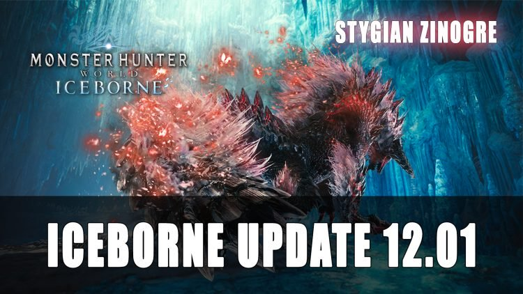 Mise à jour du Monster Hunter World Iceborne 12.01